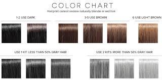 Gray Hair Color Chart Hair Print Color Chart Bedowntowndaytona Com