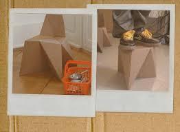 diy cardboard furniture. Foldschool DIY Cardboard Furniture Diy