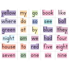 Counting Poems Flip Chart Sight Words In A Flash Word Walls Gr K 1