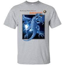 Gildan G200 Size Chart Yu Gi Oh Blue Eyes White Dragon G200 Gildan Ultra Cotton T Shirt
