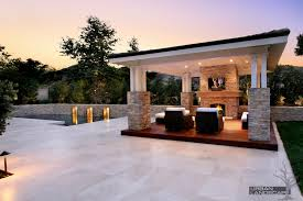 average cost to build a covered patio designs