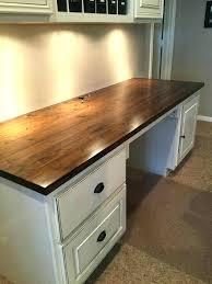 countertop desk ideas desk for office butcher block for our computer desk for granite office desk countertop desk