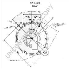 1286500 rear dim drawing