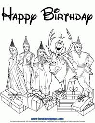 5e7ac117b7c0a614c9207e93975cd76b elsa snowflake presents cake birthday coloring page h & m on printable birthday cards nicolas cage wife