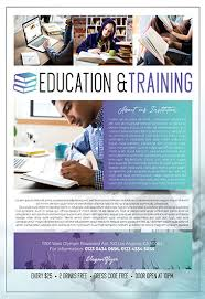 Training Flyer Templates Free Free Education Flyer Templates In Psd By Elegantflyer