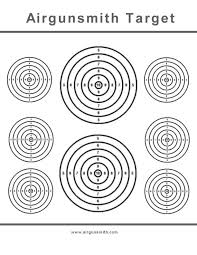 7c1c2207b1b49ac040ba5fa95b088aa0 601 best images about targets on pinterest air rifle, pistols on printable targets for zeroing