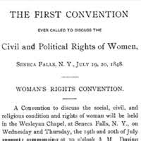 women s rights declaration of sentiments