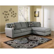 Ashley Furniture Zella Charcoal Raf Corner Chaise