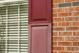 Painting Vinyl Shutters Considering Painting Vinyl Shutters Restore Them  Instead Ideas