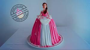Princess Cake I Barbie Torte I Barbie Kuchen I Tutorial Ibarbie Doll
