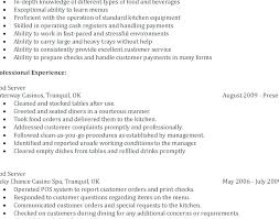 Waitress Resume Beauteous Resume For Waiter This Is Restaurant Server Resumes Waiter Skills