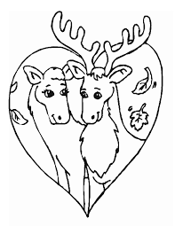 Small Picture Caribou 11 Animals Printable coloring pages
