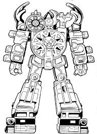 Small Picture Power ranger coloring pages megazord ColoringStar