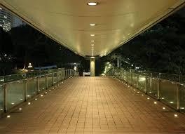 outdoor accent lighting ideas. romantic walkway with led indooroutdoor inground torcia accent lights outdoor lighting ideas