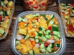 Masukkan nenas dan teruskan memasak sampai empuk. 7 Resep Acar Yang Segar Dan Menggugah Selera Makan Anda Sekeluarga Theasianparent Line Today
