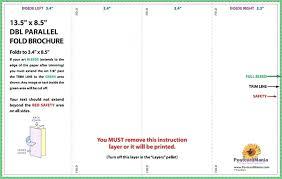 Quad Fold Brochure Template Word Gate Fold Template Velorunfestival Com