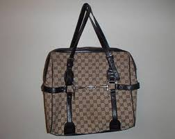 gucci bags vintage. gucci /bag vintage/ monogram logo beige n brown/ shoulder tote bag/ gucci bags vintage l