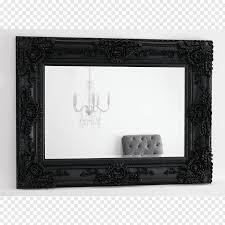 Glass Photo Frames With Lights Mirror Light Silvering Glass Frames Black Frame Free Png
