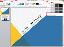 microsoft powerpoint 2010 templates applying and modifying themes in powerpoint 2010 information