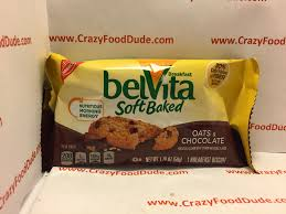 crazy food dude review belvita soft baked oats chocolate breakfast biscuits
