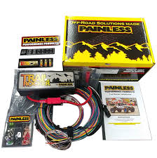 wiring harness & pigtails toms bronco parts early bronco wiring harness Wiring Harness Early Bronco trail rocker accessory control system by painless