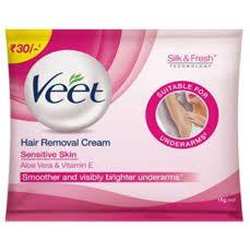 veet hair removal cream underarm pack