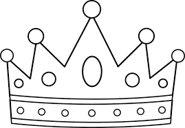 Small Picture Crowns Coloring Pages Crown Color Page Princess Hormall Com Onjpg