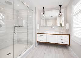 modern white bathroom. interior design large image modern white bathroom