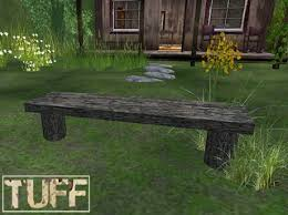 rustic garden furniture. [TUFF] Rustic Garden Bench Furniture