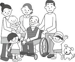 家族のイラスト無料イラストフリー素材