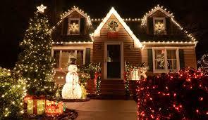 christmas outside lighting. Outdoor House Decorating Ideas Christmas Outside Light Decoration Decorations Modern Best Mid Lighting F