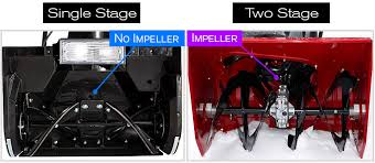 how does a snow blower work? what you need to know Snow Blower Impeller single stage blower vs two stage snow blower