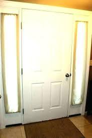 glass front door shades glass front door window coverings front door shades luxury front door side