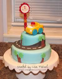 First Birthday Cake Decorating Ideas Fresh 1st Birthday Animal Cake