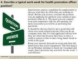 health and hygiene questions and answers ~ Odlp.co Top 10 health promotion officer interview questions and answers... 6.