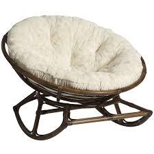 I love papasan chairs AND I love rocking chairs