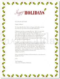 holiday template word holiday letter border londa britishcollege co