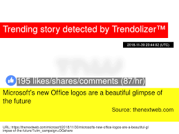 Microsoft 039 S New Office Logos Are A Beautiful Glimpse Of The Future