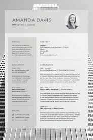Resume Template On Word Best 100 Free Cv Template Ideas On Pinterest Creative Cv Resume 8