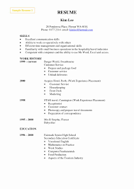 Hospitality Resume Skills Luxury Munication Skills In Resume Example ...