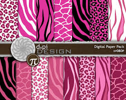 pink giraffe print background photo 13
