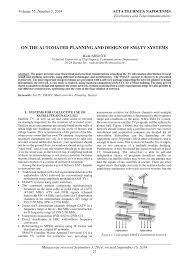 Matv System Design Pdf Pdf On The Automated Planning And Design Of Smatv Systems
