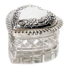 Decorative Ring Boxes 100 best Vintage Jewelry Trinket Ring Boxes and More images 58