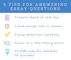 five tips for answering essay questions on exams campussims prep ahead of test day