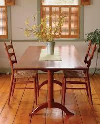 fine woodworking dining room tables. shaker dining table by fine woodworking - designs print project plans room tables