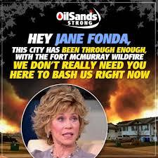 Jane Fonda In Alberta To Protest Oilsands, Pro-Oil Groups Not ...