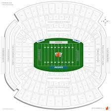 Georgia Florida Football Seating Chart Tiaa Bank Field Assure Club East Football Seating