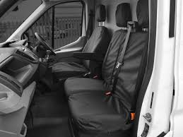 ford transit tailored water seat covers drivers seat and passenger bench