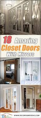 Mirror Closet Door Designs 18 Amazing Mirror Closet Door Ideas