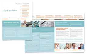 11x17 Newspaper Template Financial Services 11x17 Newsletter Templates